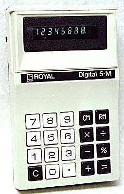 Royal Digital 5-M