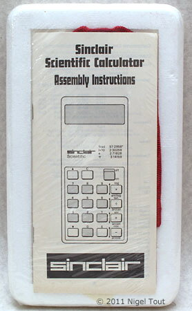 Sinclair Scientific Kit